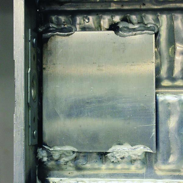Aluminum Form Strike Plate