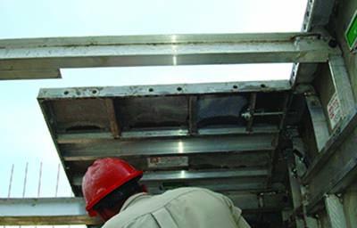 aluminum deck form