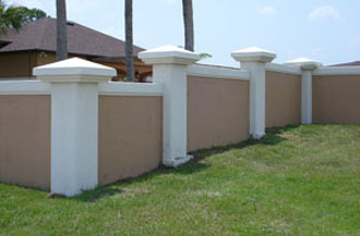 concrete fence forms