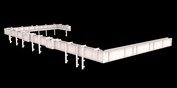 aluminum parapet forms